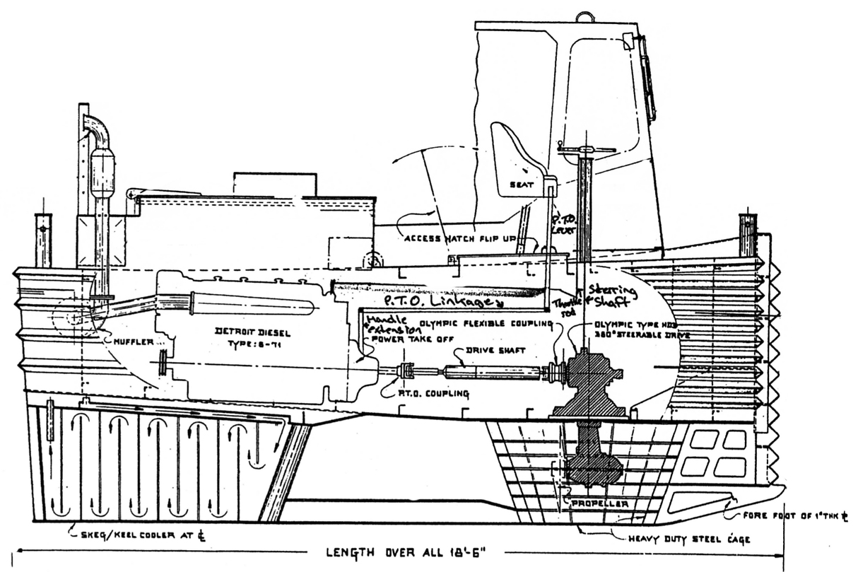 West Coast Winder Drawing